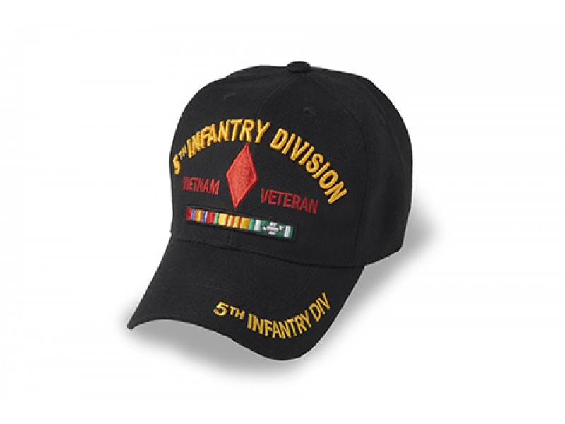 5TH INFANTRY DIVISION VIETNAM WITH SERVICE RIBBONS