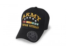 ARMY VIETNAM RIBBON CAP WITH   *STARS THAT ARE DECORATION NOT AWARDED*