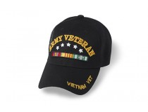 ARMY VETERAN WITH STARS ABOVE RIBBON VETERAN CA