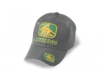 GREY  JOHN 3:16  JESUS CAP GOLD GREEN JESUS WITH CROSS