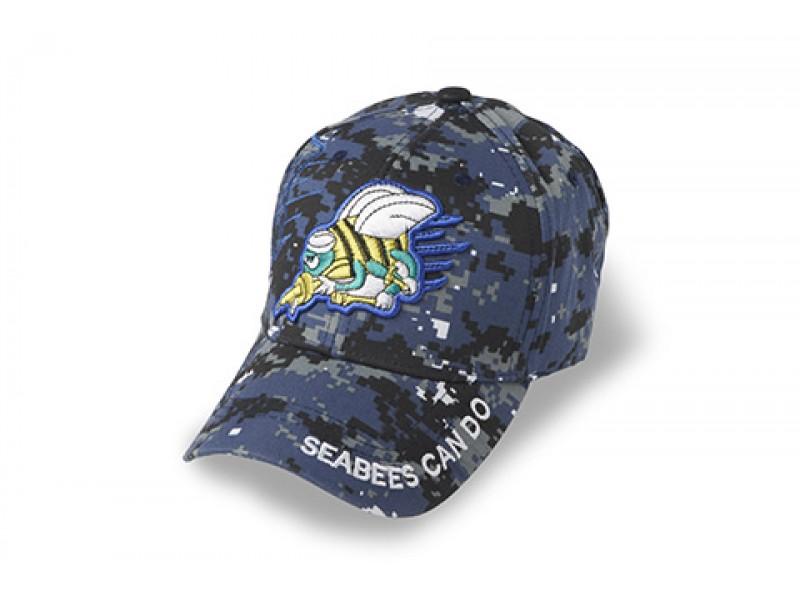 NAVY SEABEES BLUE DIGITAL CAP