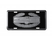 COMBAT ACTION BADGE LICENSE PLATE