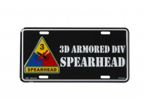 3D ARMORED DIVISION CAR TAG