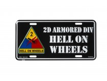 2ND ARMORED DIVISION CAR TAG