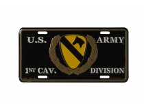 1ST CALVARY DIVISION US ARMY CAR TAG
