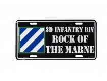 3D INFANTRY DIVISION CAR TAG