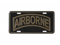 AIRBORNE ROCKER CAR TAG