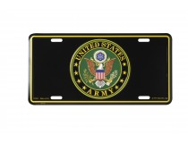 UNITED STATES ARMY INSIGNIA CAR TAG