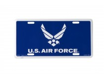 US AIRFORCE WINGS LICENSE PLATE