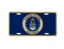 US AIRFORCE LICENSE PLATE