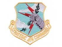 STRATEGIC AIR COMMAND AIRFORCE UNIT PATCH