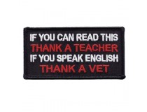 IF YOU CAN READ THIS THANK A TEACHER IF YOU SPEAK ENGLISH THANK A VET