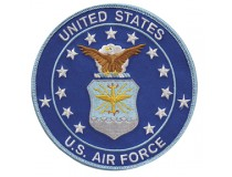 "5"" AIRFORCE LOGO PATCH"