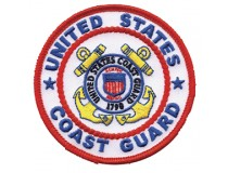"3"" US COAST GUARD OFFICIAL PATCH"