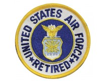 "US AIRFORCE 3"" RETIRED PATCH"