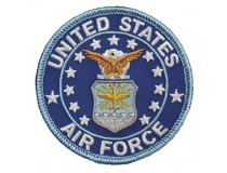"TRADITIONAL 3"" US AIRFORCE LOGO PATCH"