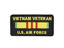 AIRFORCE VIETNAM SERVICE RIBBON PATCH