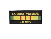 NAVY COMBAT VIETNAM SERVICE RIBBON PATCH