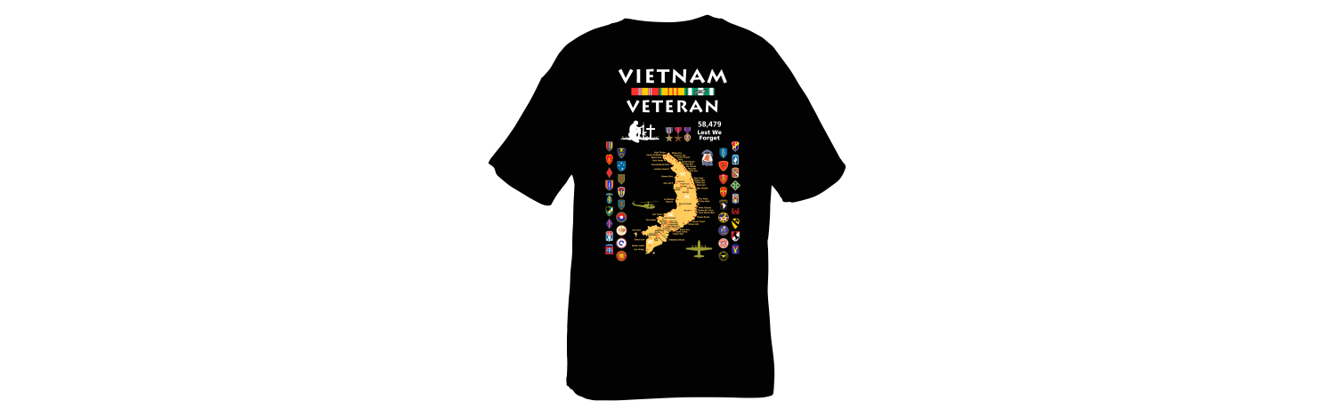 Vietnam Map Shirt