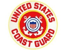 "US COAST GUARD 10""  BACK JACKET PATCH"
