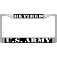 RETIRED ARMY LICEN..