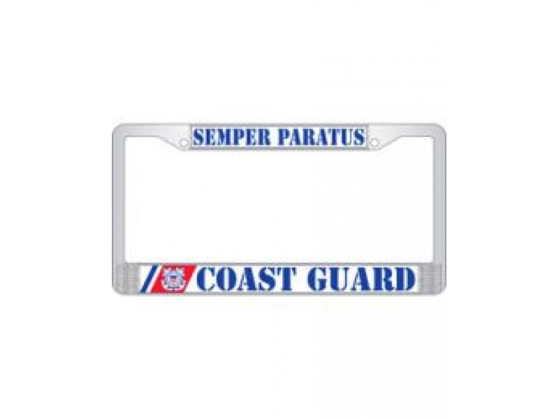 US COAST GUARD LICENSE FRAME