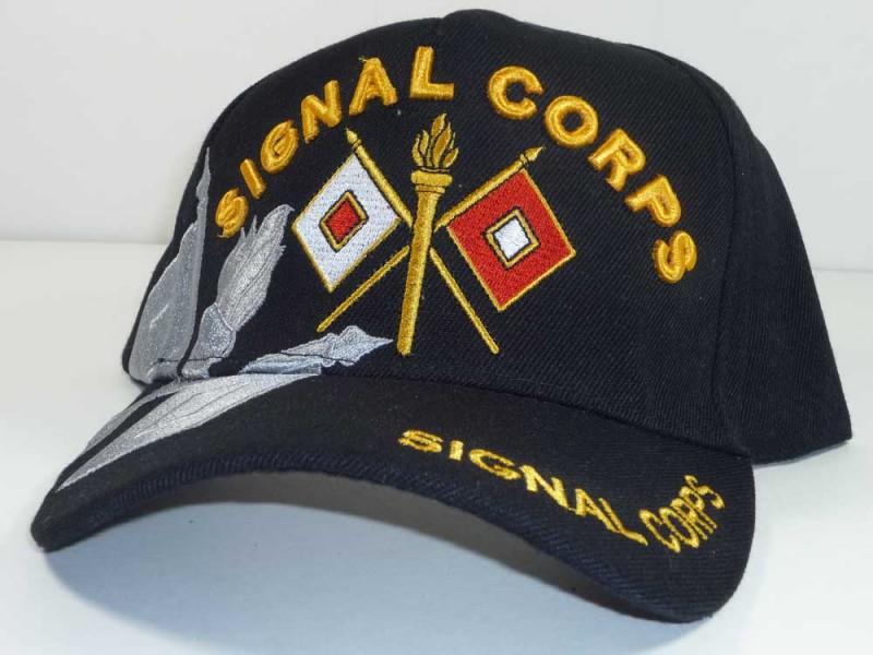 SIGNAL CORP ARMY UNIT CAP