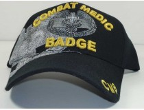Combat Medic Badge Military Cap