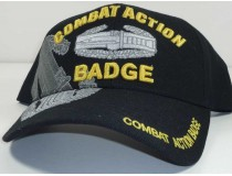 Combat Action Badge Military Cap