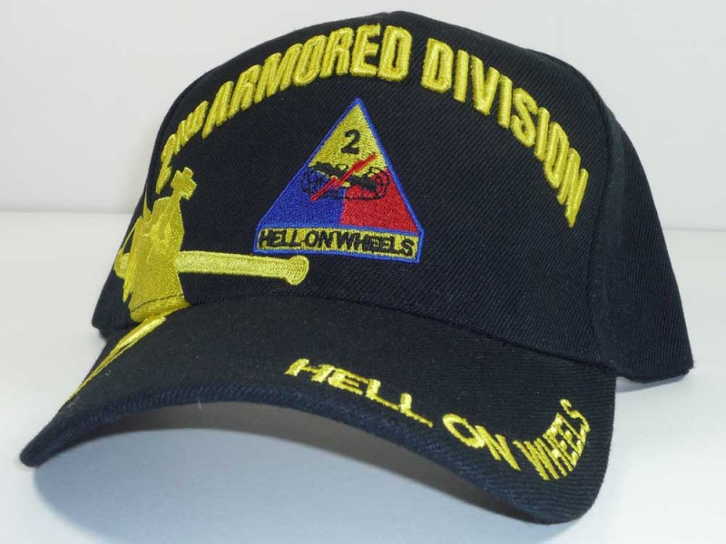 2ND ARMORED DIVISION UNIT CAP