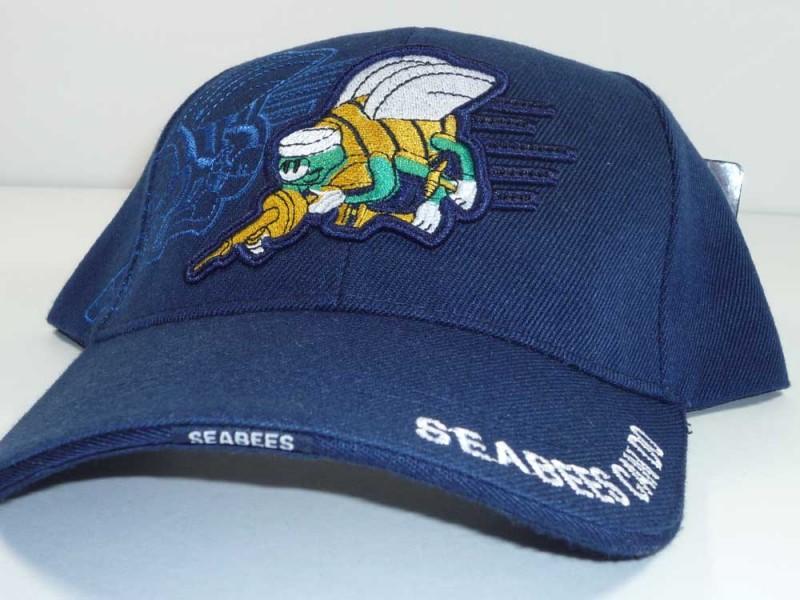 NAVY SEABEES BLUE CAP