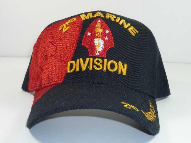2ND MARINE DIVISION UNIT CAP