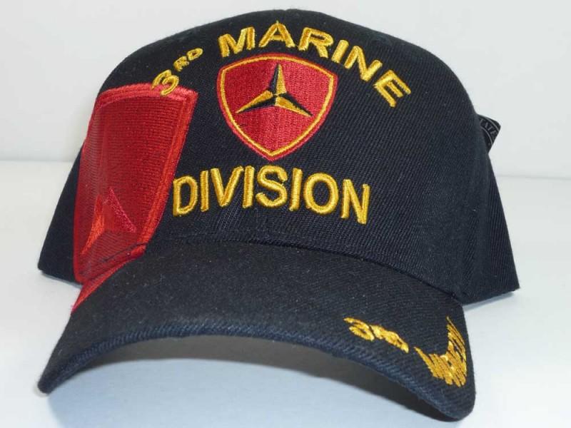 3D MARINE DIVISION UNIT CAP