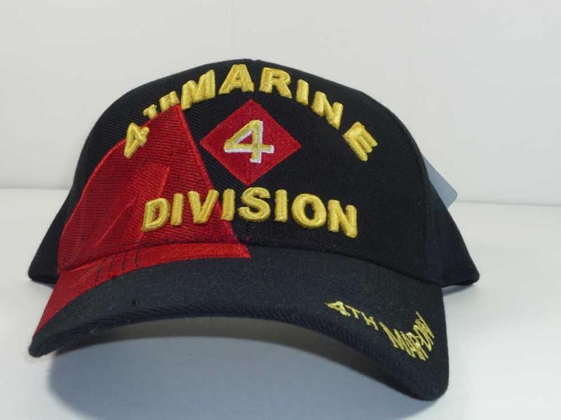 4TH MARINE DIVISION UNIT CAP