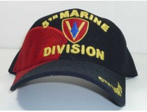 5th Marine Division Military Cap