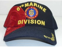 6th Marine Division Military Cap