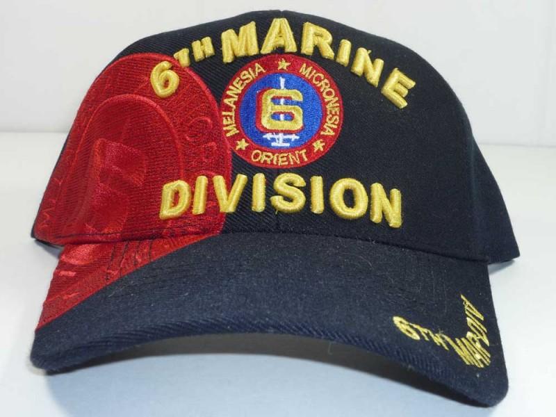 6TH MARINE DIVISION UNIT CAP