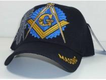 Masonic - Black / Blue