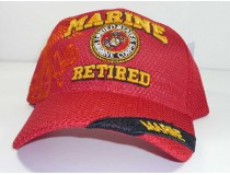 Marine Retired Mesh Military Cap