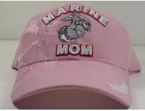 Marine Mom Pink Cap