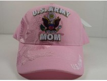 U.S. Army Mom Pink Cap