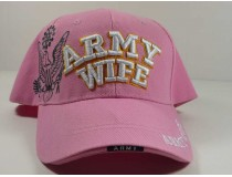 Army Wife Pink Cap