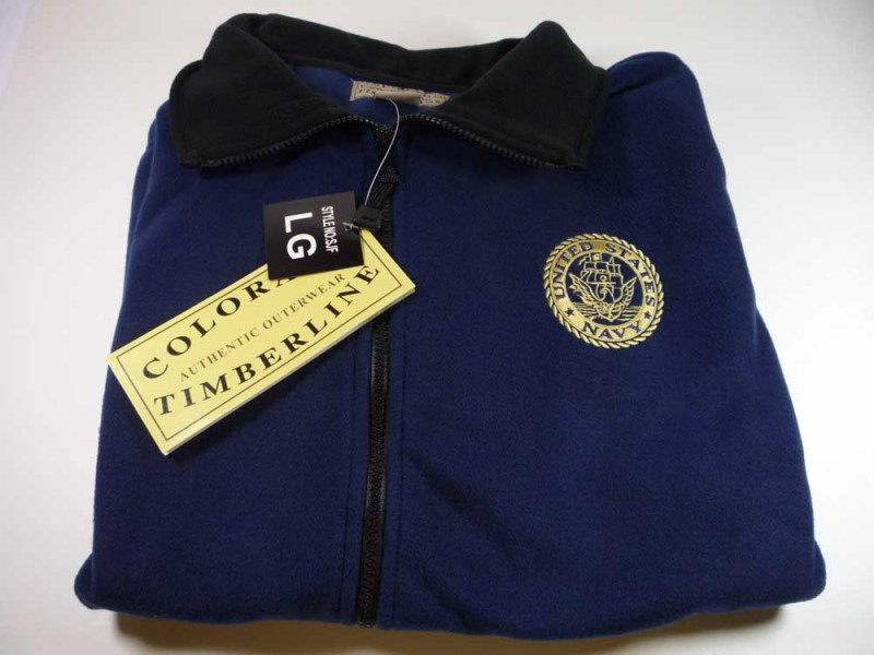 U.S. Navy Custom Embroidered Fleece Jacket