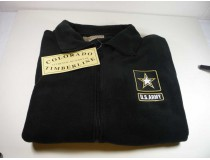 Army Custom Embroidered Fleece Jacket