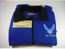 Air Force Custom Embroidered Fleece Jacket