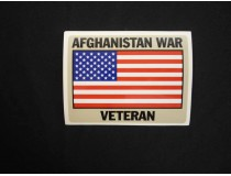 AFGHANISTAN WAR VETERAN DECAL
