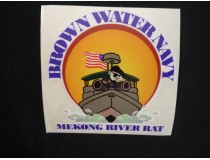 BROWN WATER NAVY DECAL