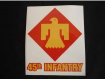 45TH INFANTRY DIVISION DECAL