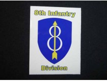 8th Infantry Division Decal