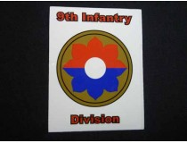 9th Infantry Division Military Decal